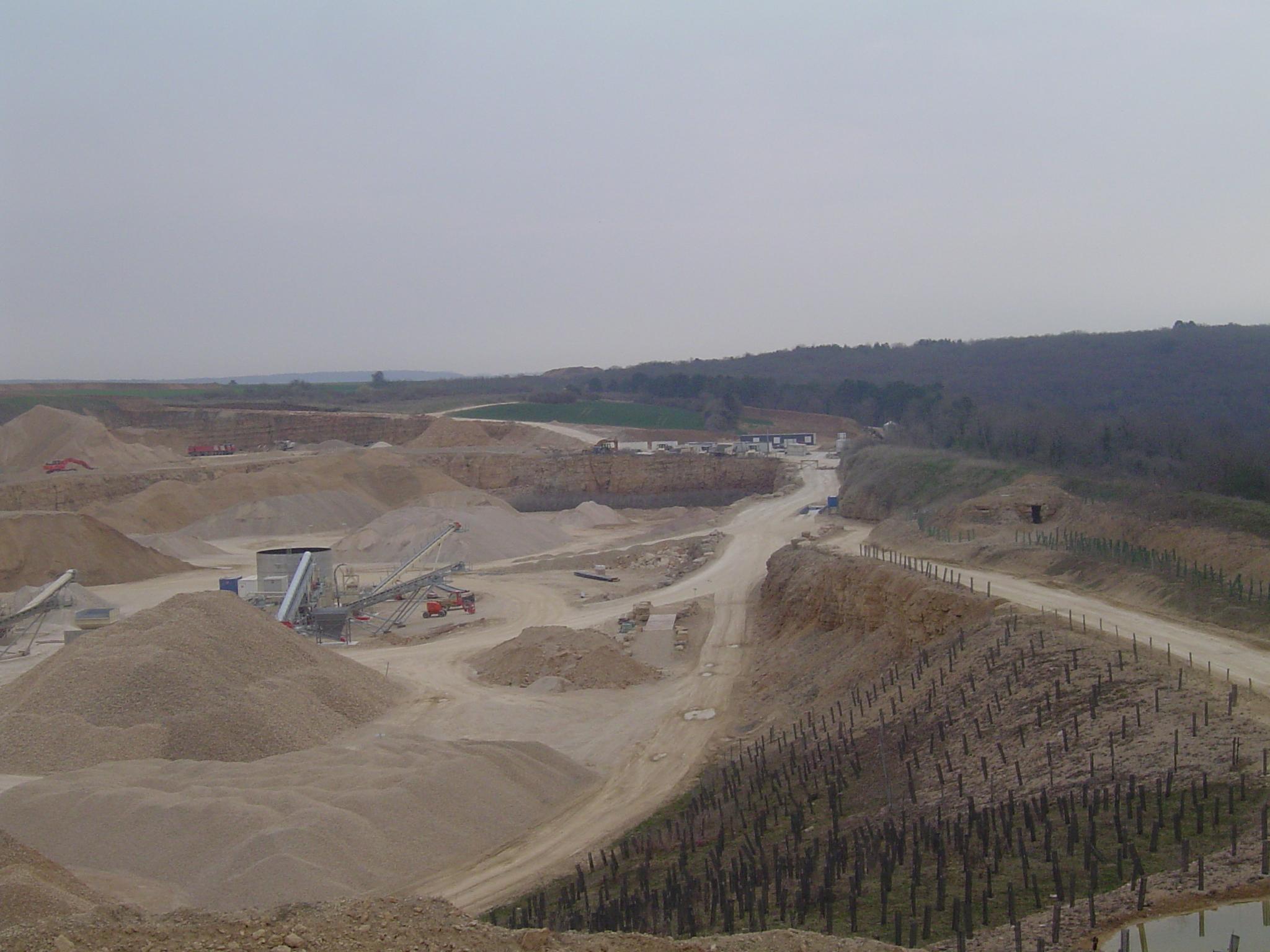 Site GRANULATS VICAT